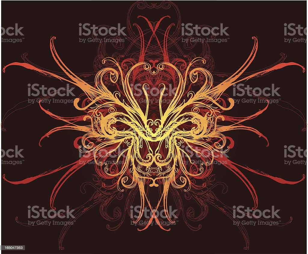 from the depths royalty-free stock vector art