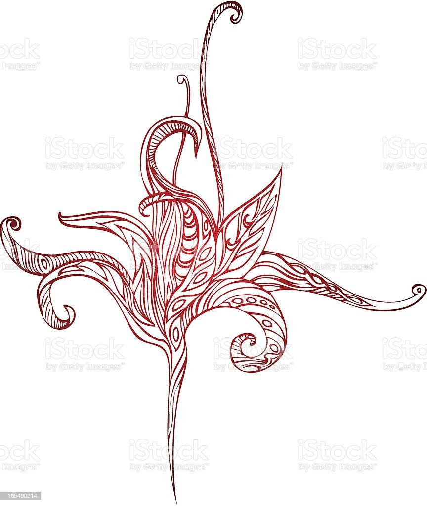 Von den Tropen Lizenzfreies vektor illustration