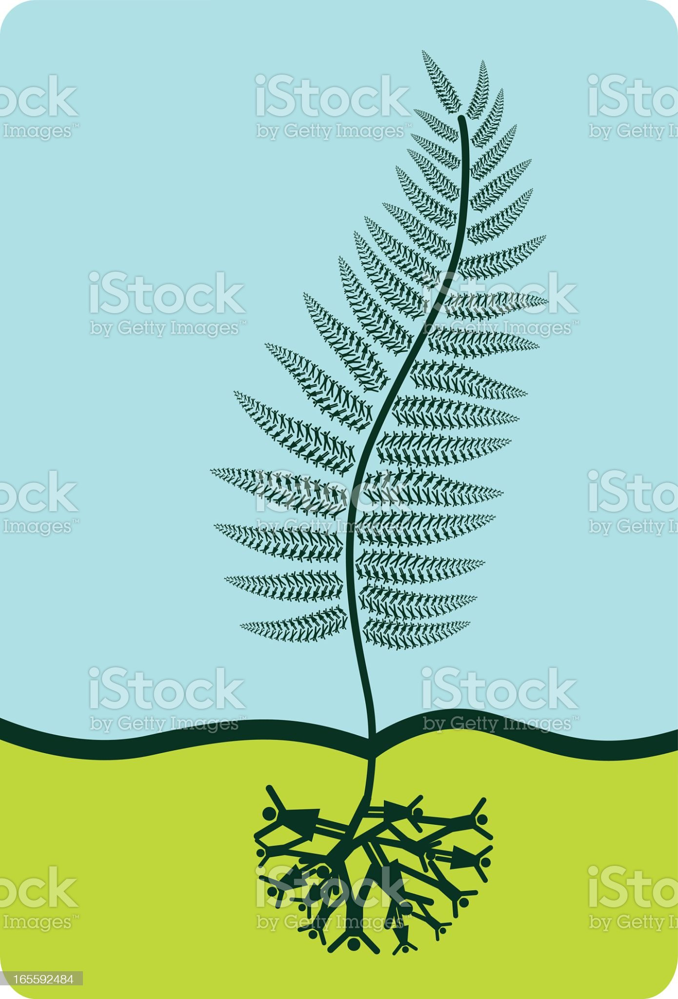 Fronds Like These royalty-free stock vector art