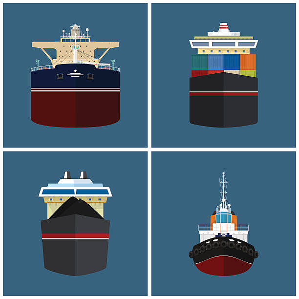 Barge Clip Art, Vector Images & Illustrations - iStock