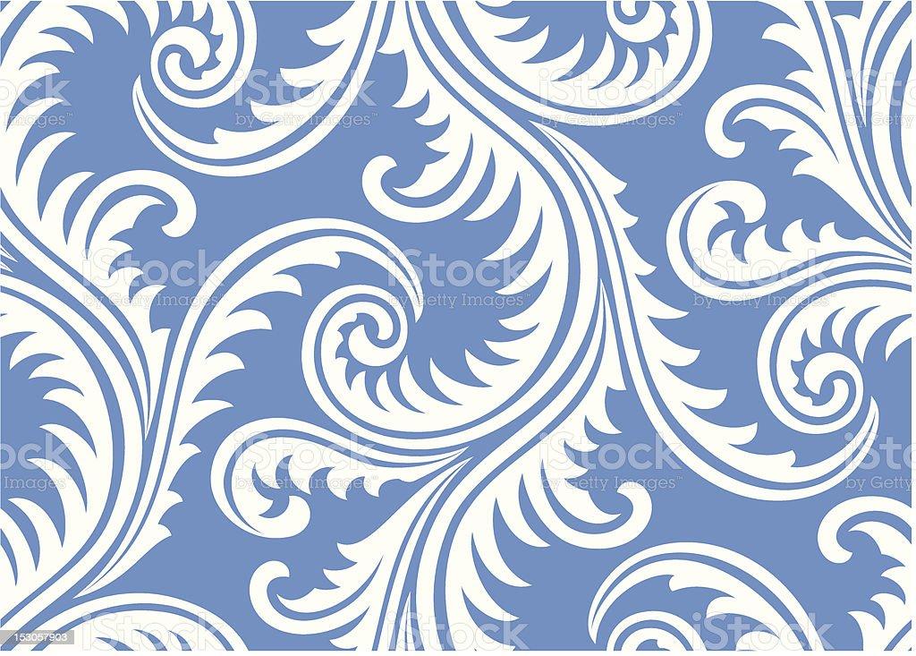 Frost on window seamless pattern royalty-free stock vector art