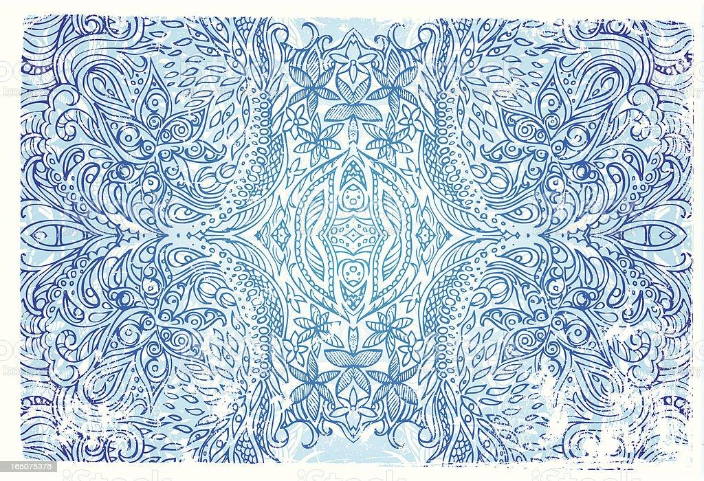 frostigen Magie Lizenzfreies vektor illustration