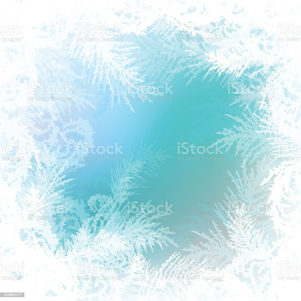 frosty pattern vector background vector art illustration