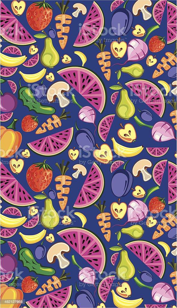 Fruit background royalty-free stock vector art