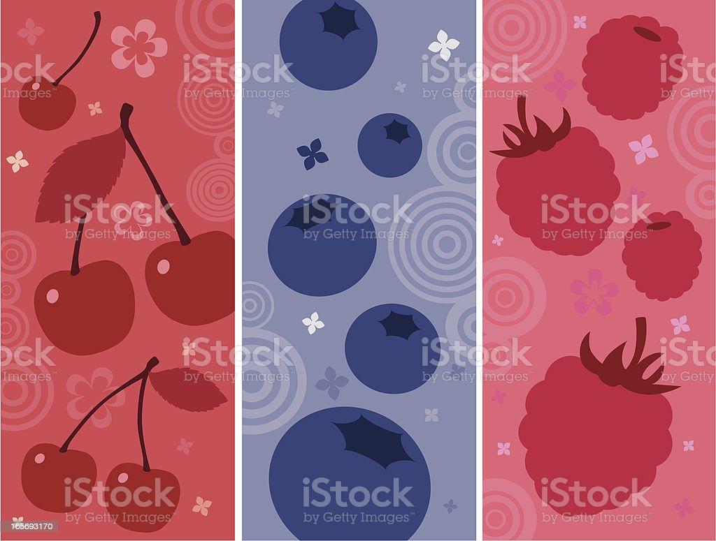 Fruit Cocktail vector art illustration