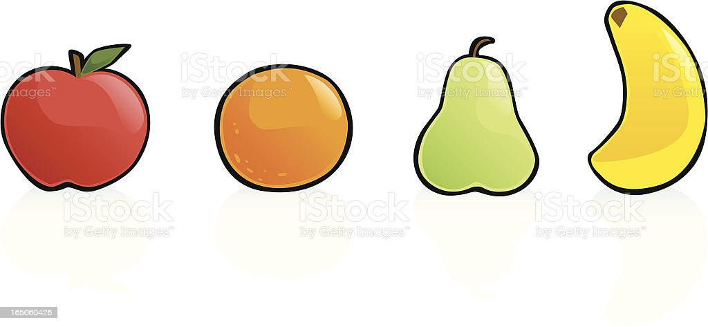 Fruit Collection royalty-free stock vector art