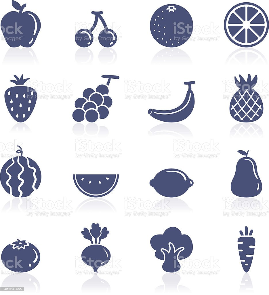 Fruit interface icon royalty-free stock vector art