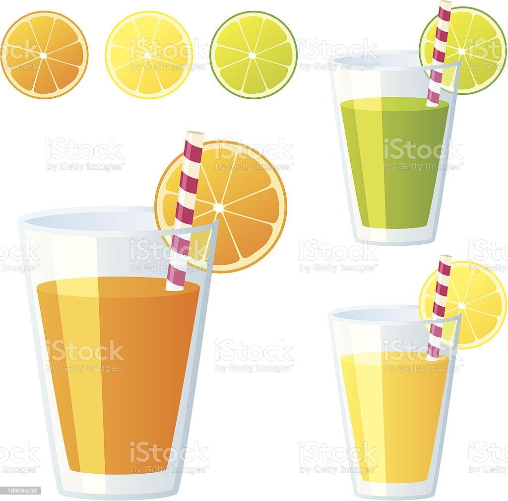 Fruit Juice - incl. jpeg vector art illustration