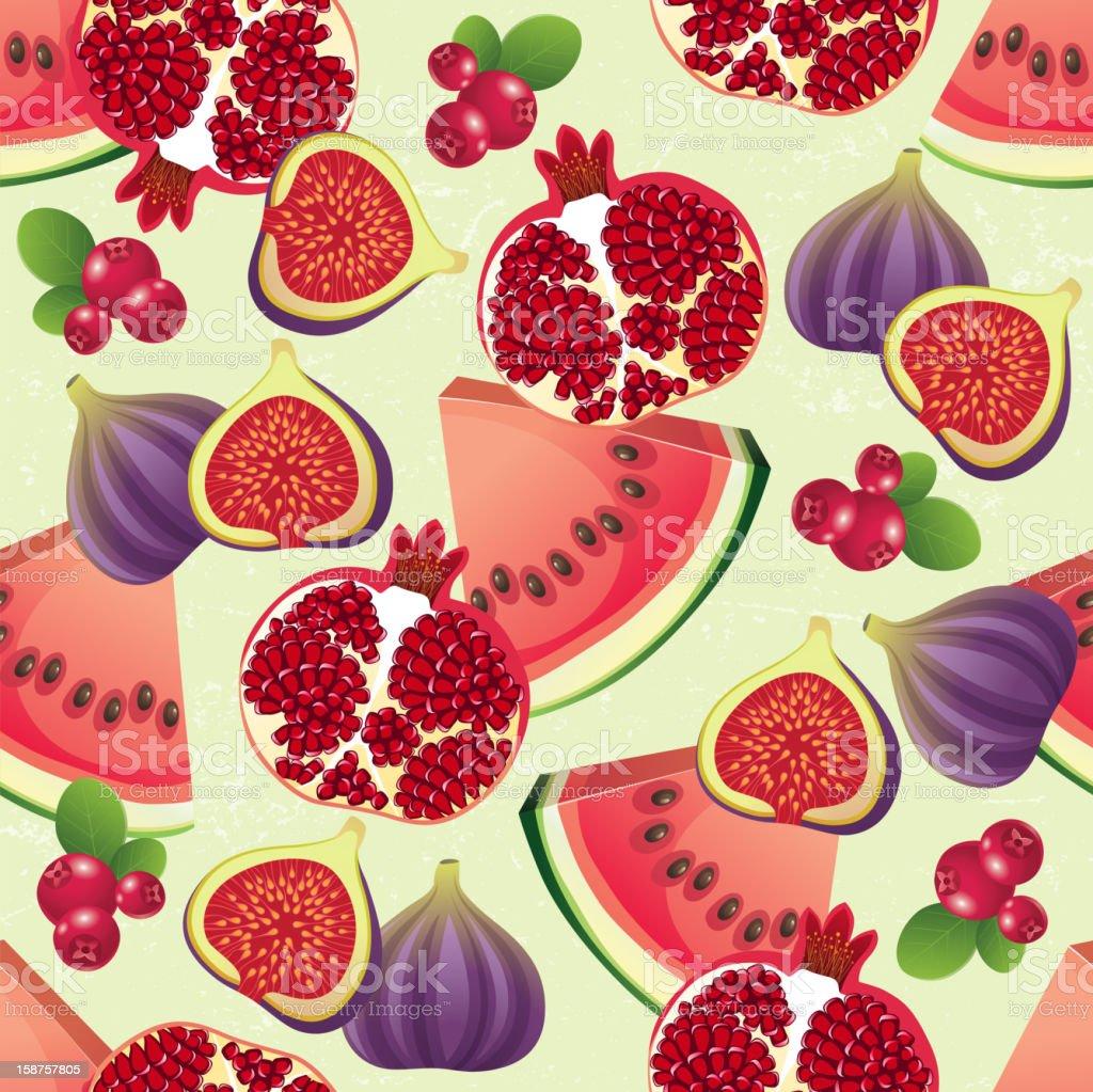 fruit seamless royalty-free stock vector art