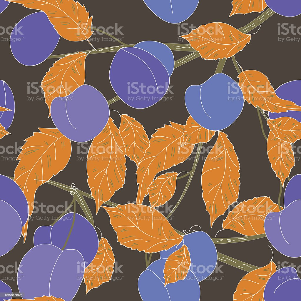 Fruits background royalty-free stock vector art