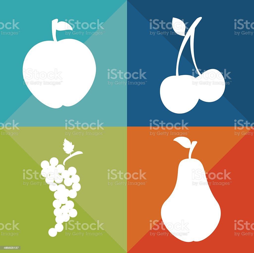 Fruits design royalty-free stock vector art