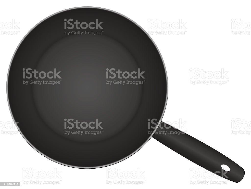 frying pan royalty-free stock vector art