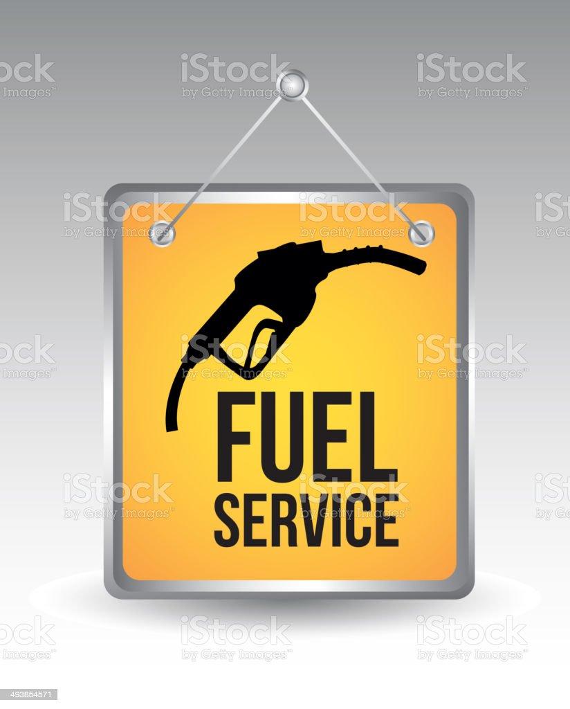 fuel icon vector art illustration