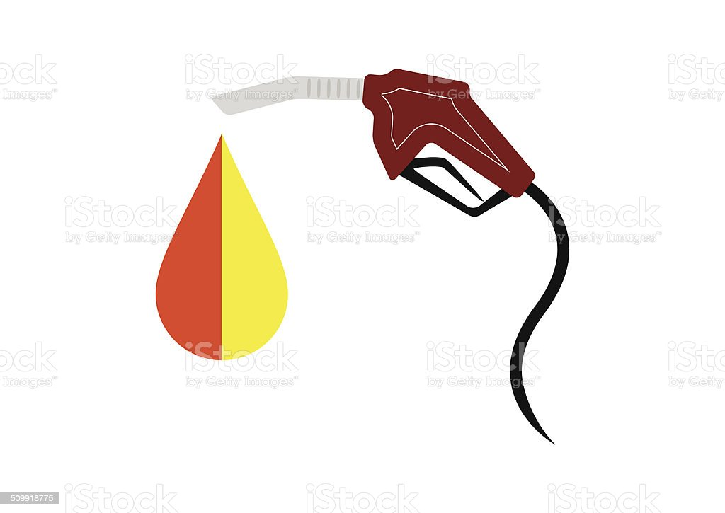 Carburant Pompe à essence stock vecteur libres de droits libre de droits
