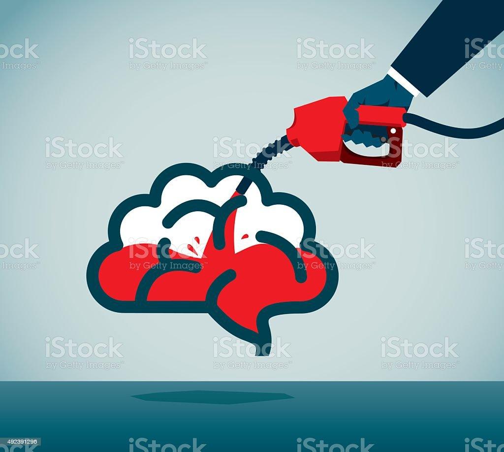 Fuel Pump vector art illustration