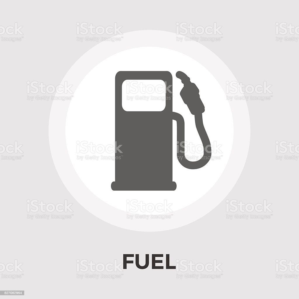 Fuel vector flat icon vector art illustration
