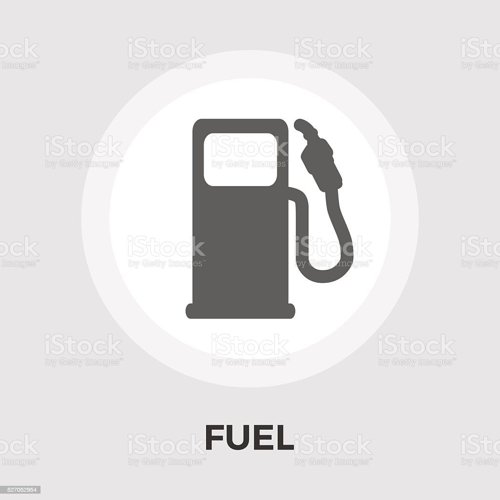 Fuel vector flat icon vector art illustration