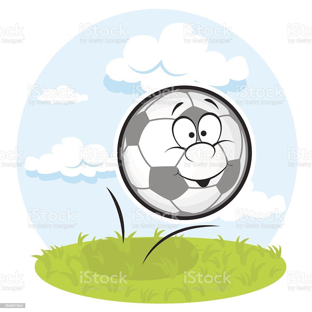fun football royalty-free stock vector art