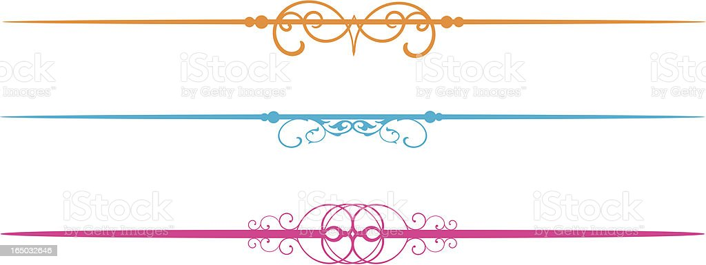 Fun Vector Lines royalty-free stock vector art