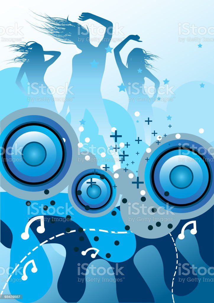 Funk My Beats royalty-free stock vector art