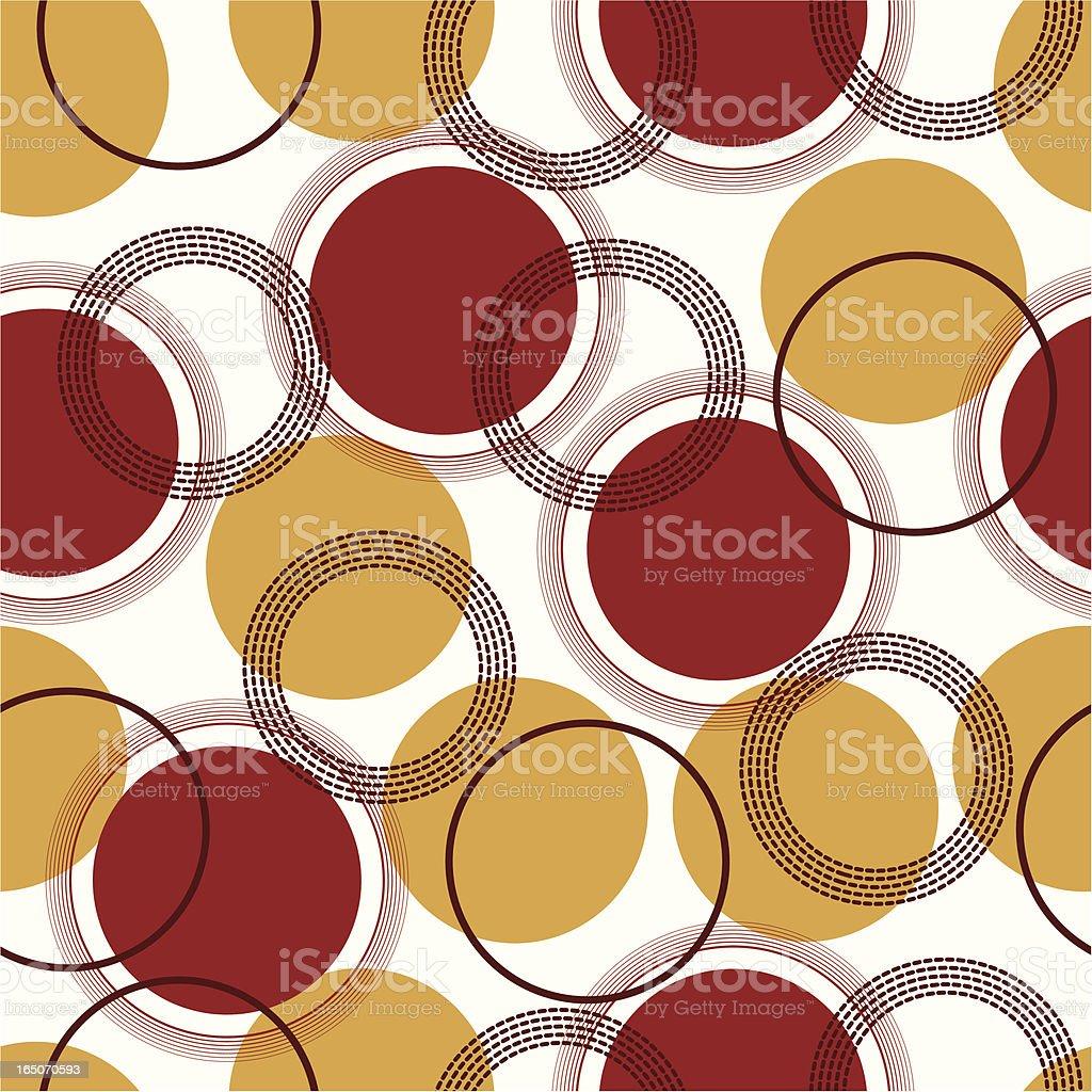 Funky dots royalty-free stock vector art