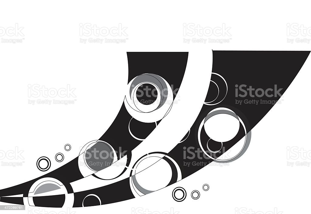 Funky element royalty-free stock vector art