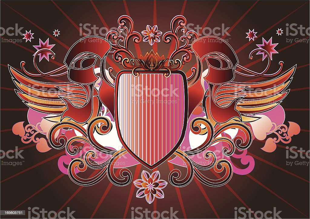 Funky Insignia royalty-free stock vector art