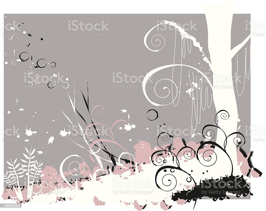 funky nature royalty-free stock vector art