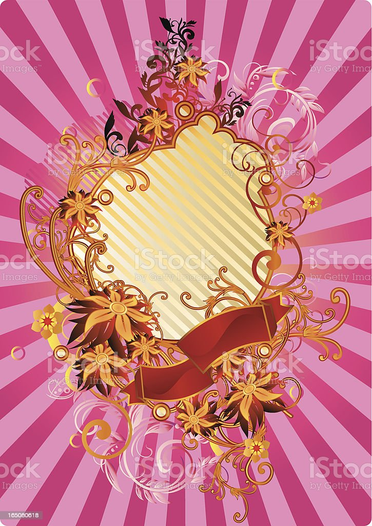 Funky retro royalty-free stock vector art