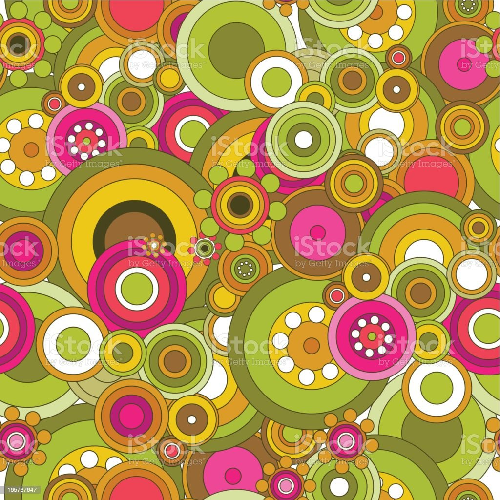 Funky spring pattern royalty-free stock vector art