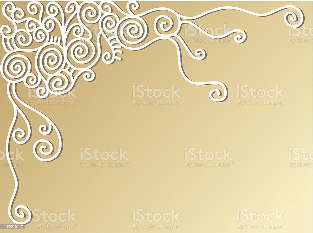 Funky swirls royalty-free stock vector art
