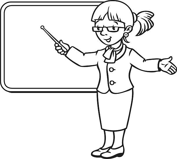 black teacher clipart - photo #34