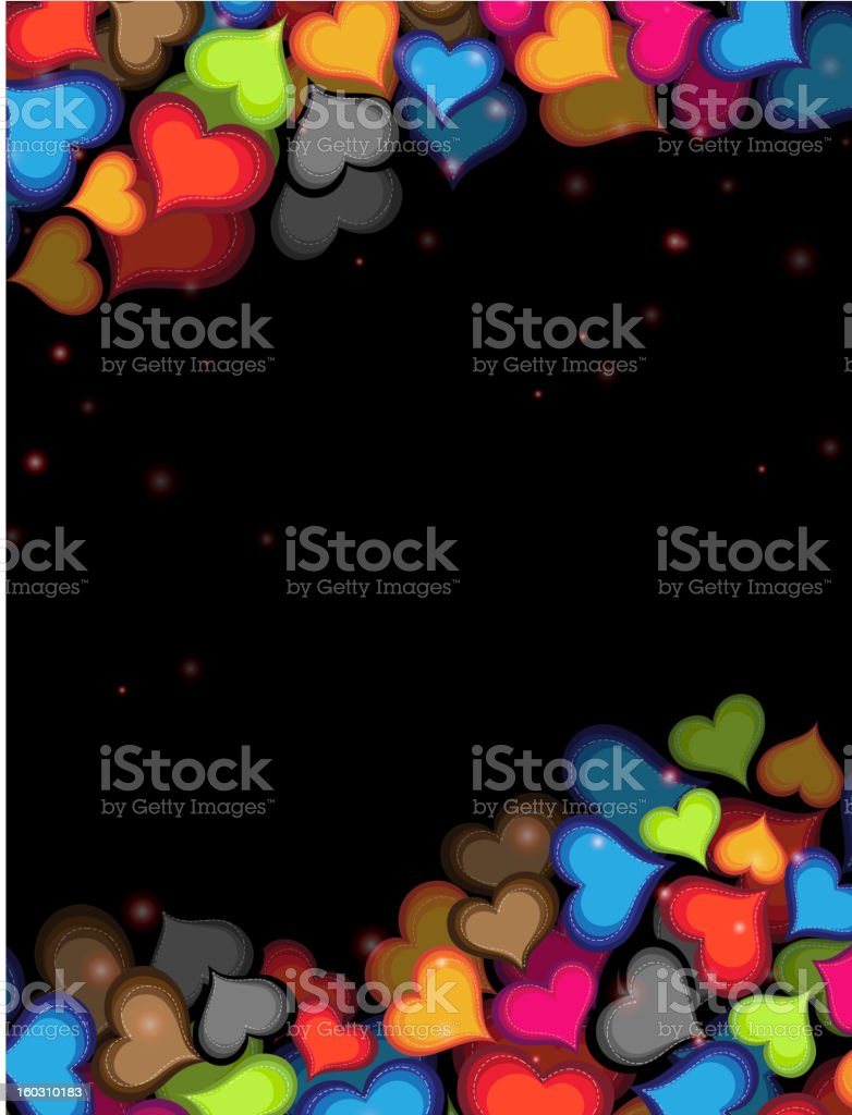 Funny Valentines Card royalty-free stock vector art