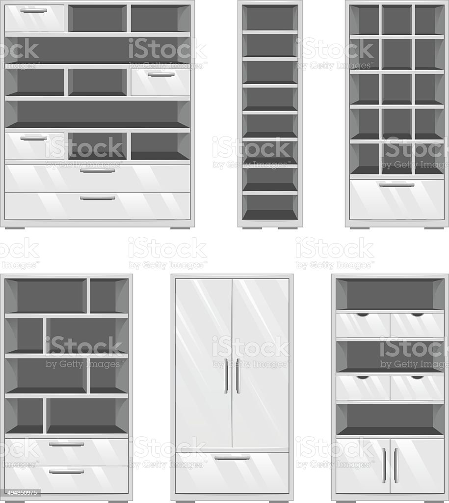 Furniture set royalty-free stock vector art
