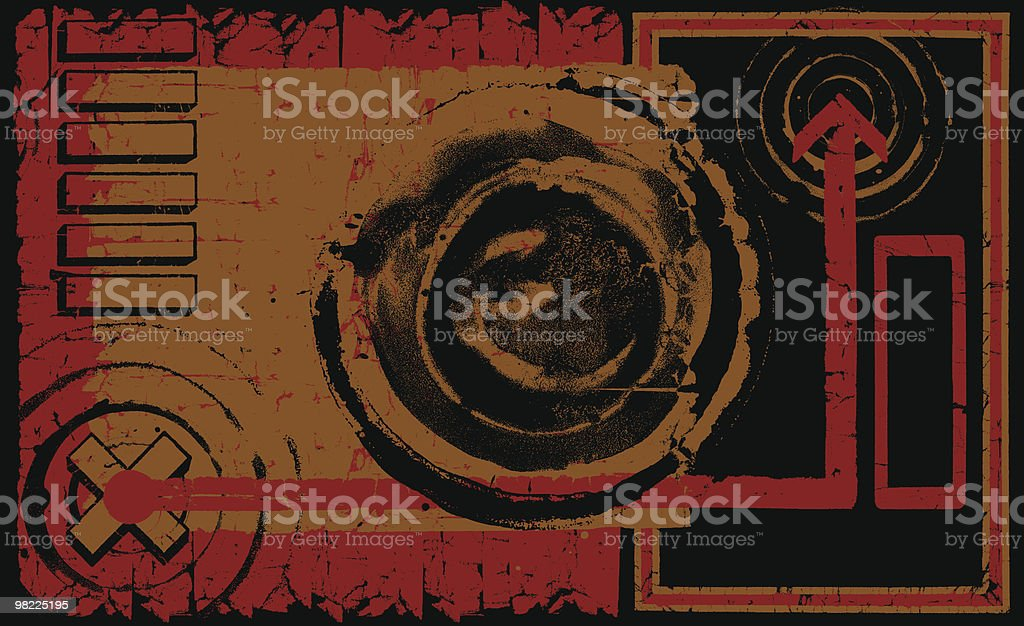 Future Grunge royalty-free stock vector art