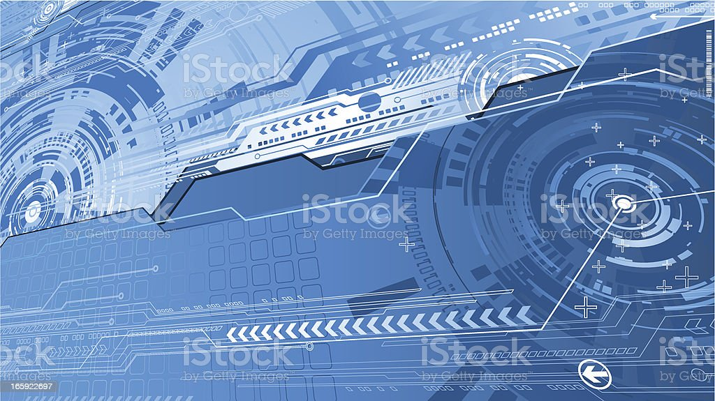 Futurictic background. royalty-free stock vector art