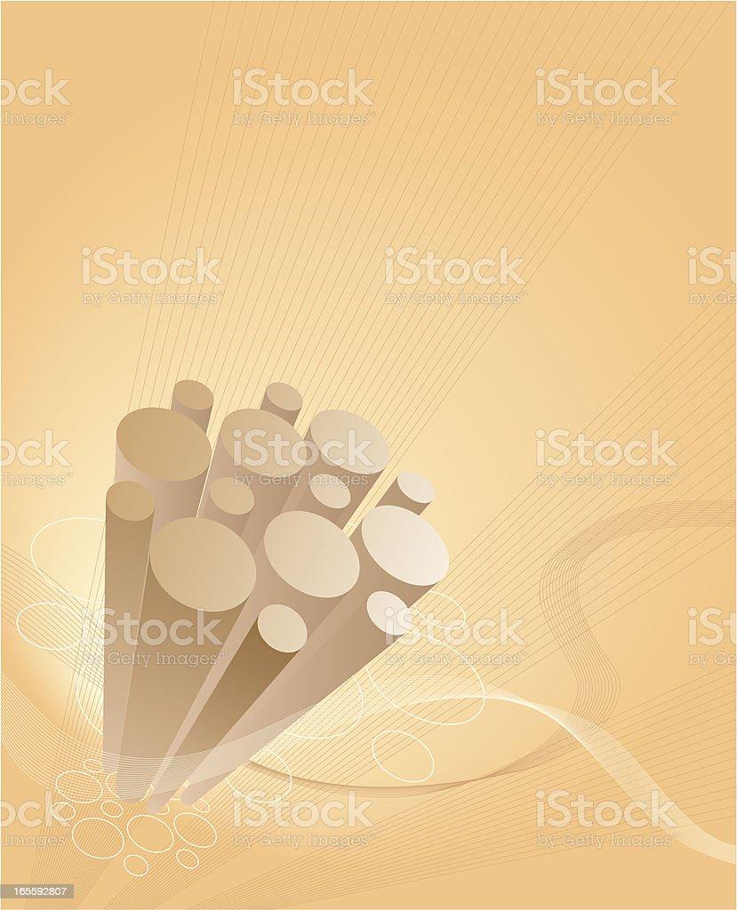 Futuristic Background vector art illustration