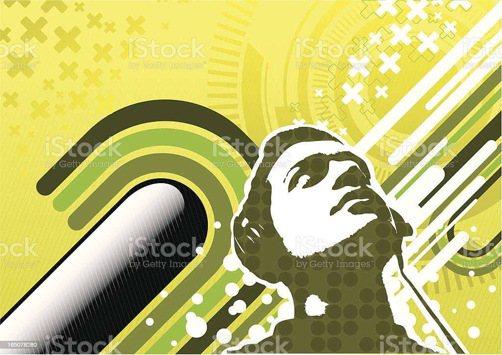 Futuristic modern design royalty-free stock vector art