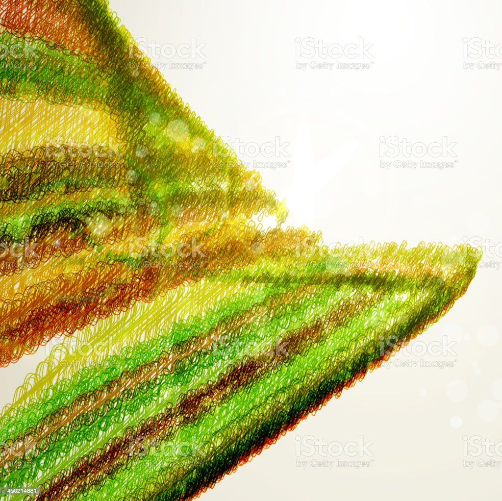 Futuristic soft illustration royalty-free stock vector art