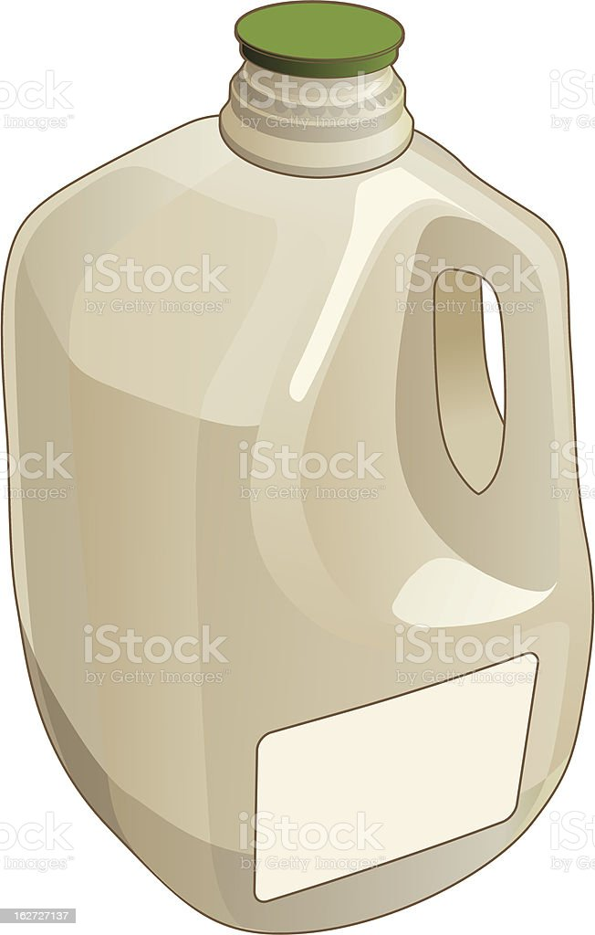 A gallon sized jug illustration royalty-free stock vector art