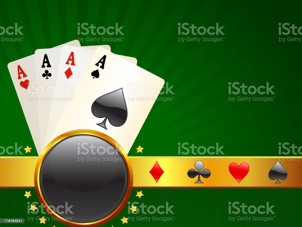 Gambling royalty free vector Background with glow effect royalty-free stock vector art