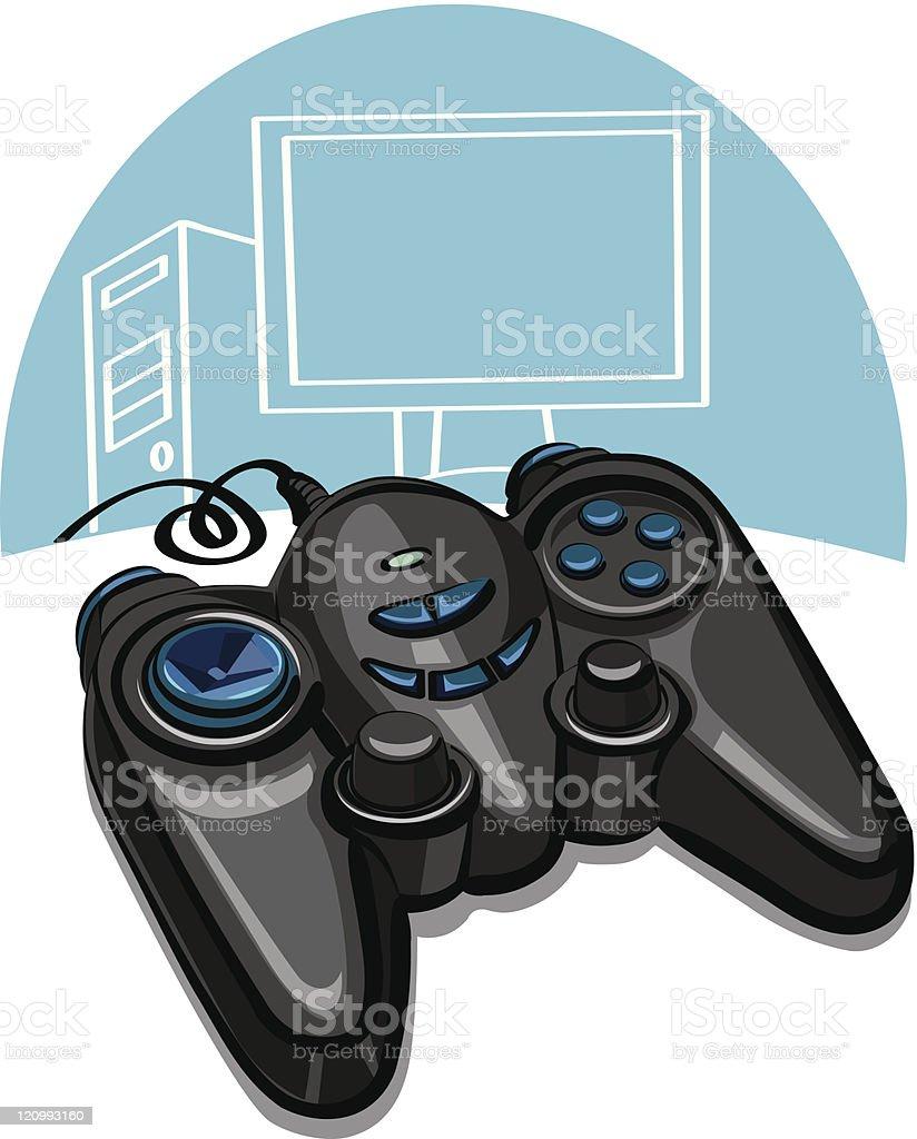 game controller royalty-free stock vector art