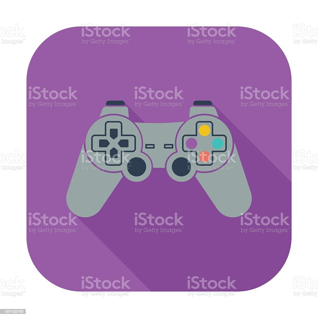 Game icon. royalty-free stock vector art