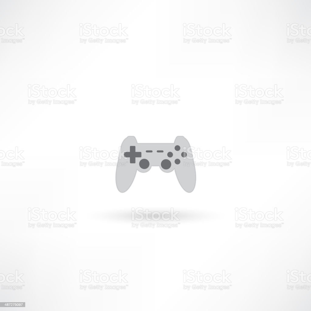 game joypad icon royalty-free stock vector art