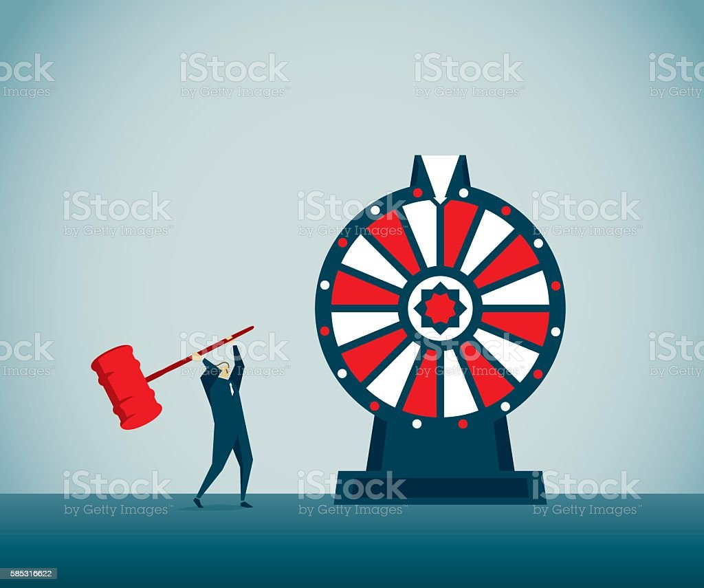 Game Show vector art illustration
