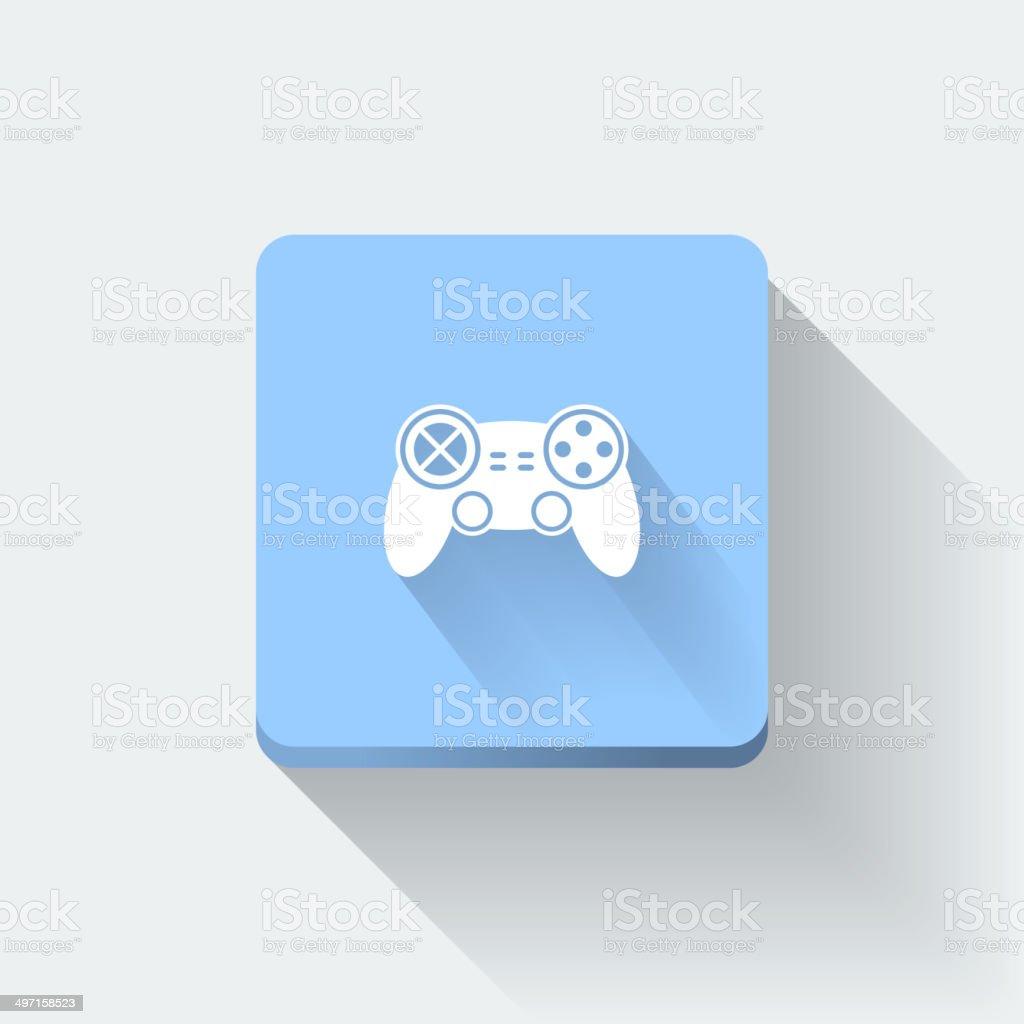 Gamepad icon royalty-free stock vector art