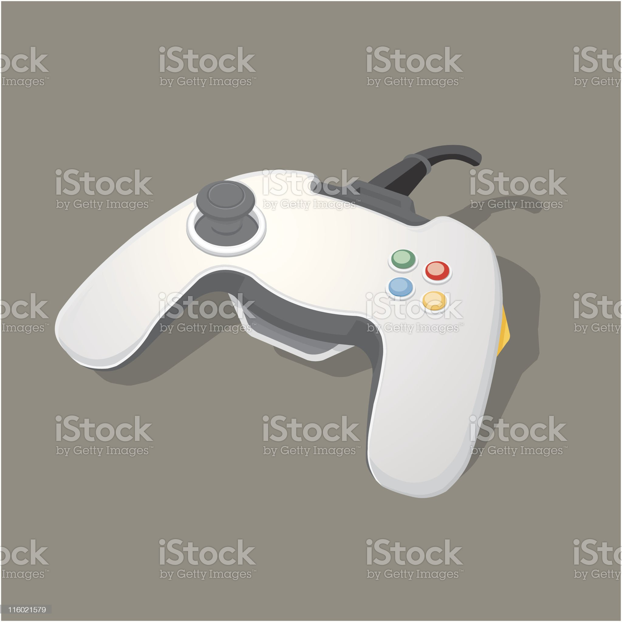 Games Console Joypad royalty-free stock vector art