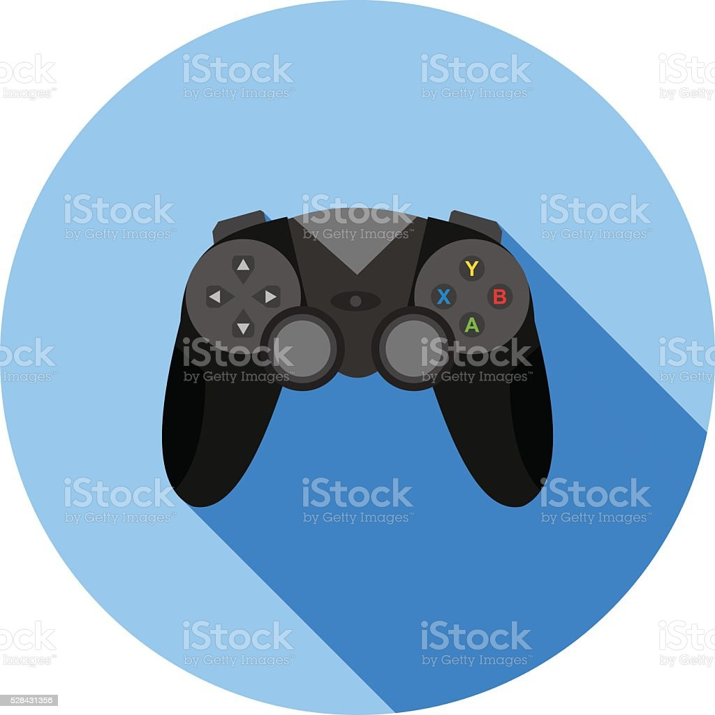Gaming Console I vector art illustration