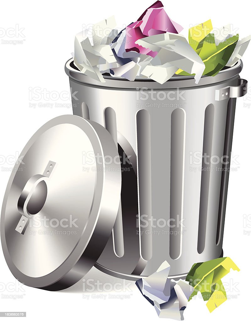 Garbage royalty-free stock vector art