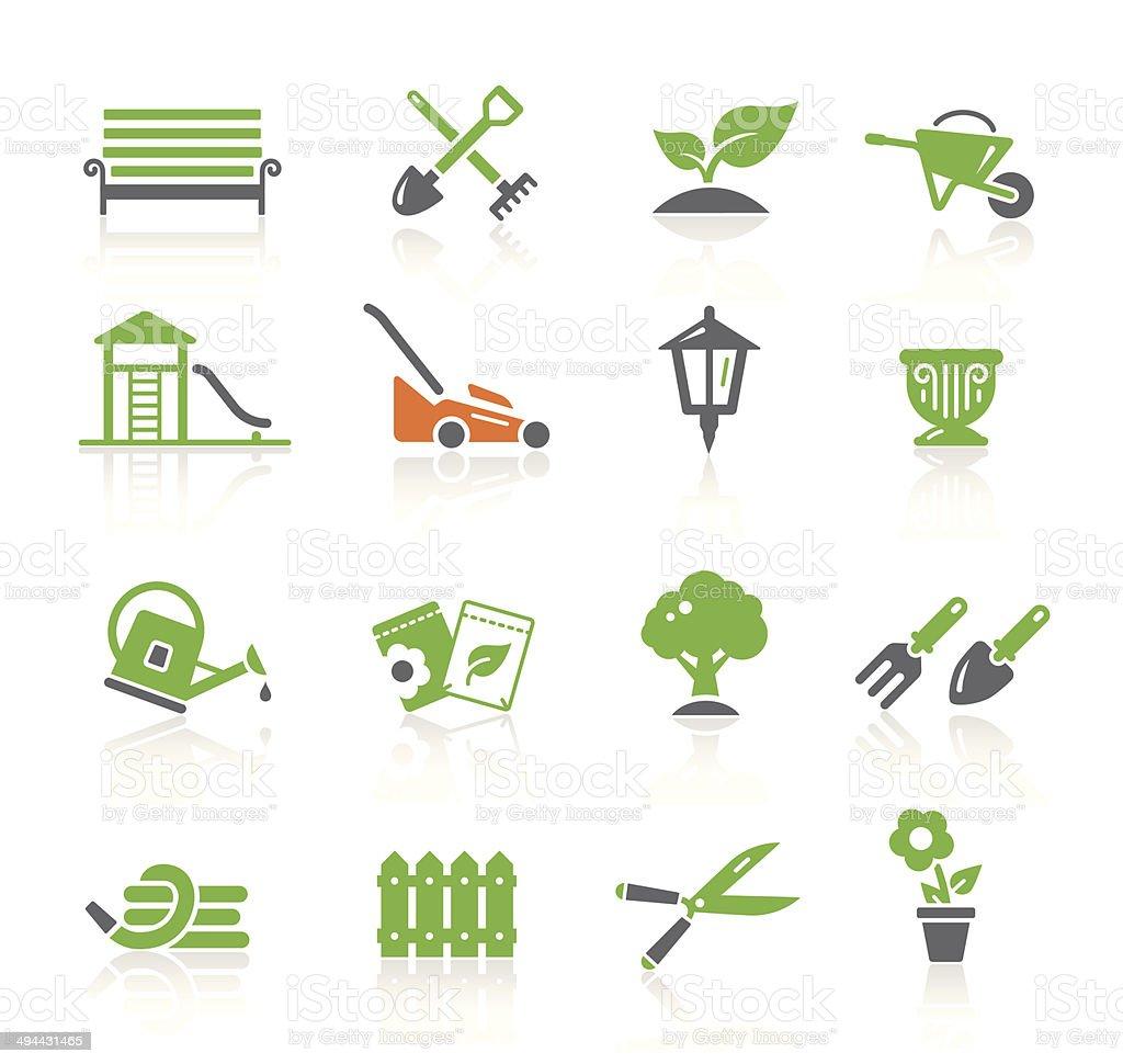 Garden & Gardening | Spring Series vector art illustration